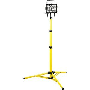 Flexon 46001N Halogen Portable Work Light 500 Watt with T...