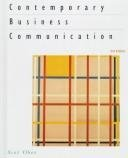 Contemporary Business Communication, Ober, Scot, 0395870852