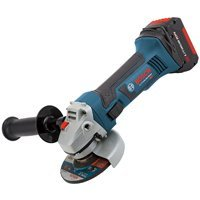 Bosch CAG180-01 18-Volt Lithium-Ion 4-1/2-Inch Lithium-Ion Grinder Kit with 2 Batteries, Charger and Case by Bosch