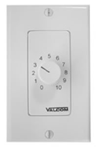 Valcom Wall Mount Volume Control, Dec