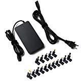 90W Slim Universal AC Charger 15–20V Voltaje de multi Power Adapter with USB para computadora Portátil HP Dell...