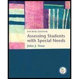 Read Online Assessing Students With Special Needs (4th, 07) by Venn, John J [Paperback (2006)] ebook