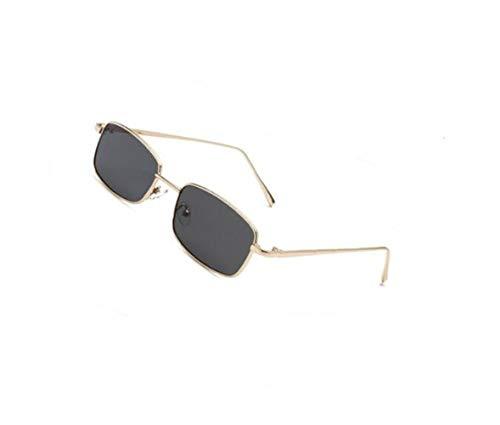 moda metal de de para al para Huyizhi Gafas conducir de Guay gafas aire marco unisex viajar de Golden libre UV400 gafas protección sol FzSX7fxSwq