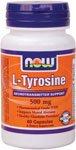 NOW Foods L Tyrosine 500 mg 120 caps