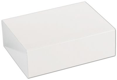 Food & Gourmet Boxes - White 6-Truffle Confectionery Sleeves (100 Sleeves) - BOWS-SLEVE-6WH -  BAG123