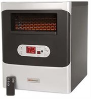 5 HeatWorX Portable Infrared Space Heaters with Air Max Efficient Flow HeatWorx Infrared Heaters