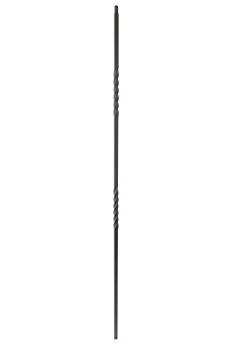 Twist Baluster - Iron Balusters - Double Twist - Hollow - 44