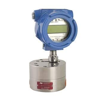Positive Displacement Flow Meter - AW-Lake MicroFlow Positive Displacement Gear Flowmeter w/Display and 4-20 mA Out; EX Rated