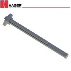Hager 4701 Standard Duty RIM Type Exit Device 48'' Fire Rated UL Grade 2 32D Satin SS Finish by Hager
