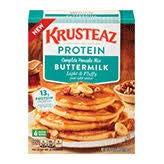 Krusteaz Complete Pancake Protein Mix (Pack of 18)