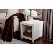 Better Homes and Gardens Accent Table,White