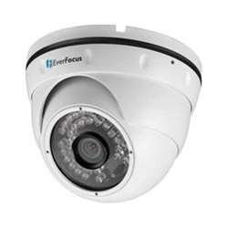 Everfocus EBN268/3 Day/Night Outdoor Ball Ir and Wdr Network Camera, 2 Megapixel, Had Cmos Sensor, 3.6 mm Lens, 30Fps Frame Rate, 12VDC and PoE