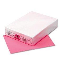 Kaleidoscope Multipurpose Colored Paper, 24lb, 8-1/2 x 11, Hyper Pink, 500/Ream