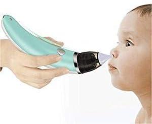 SJZQ Aspirador Nasal para BebéS EléCtrico Recarga USB Secreciones Nasales LechóN, Higiene ReciéN Nacidos Y NiñOs PequeñOs