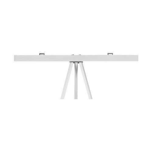 Quartet Tripod Easel Pad Retainer, Holds 27 inch by 34 inch Pads, Aluminum/Silver (50T) by Quartet