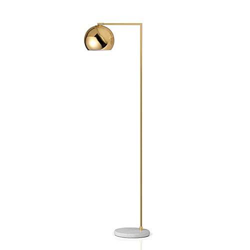 Postmodern Stehleuchte Nordischen Stil Einfache Gold Marmor Wohnzimmer Schlafzimmer Studie Stehlampe, H165cm