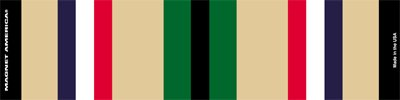 Desert Storm Service Ribbon Bar Mini Magnet