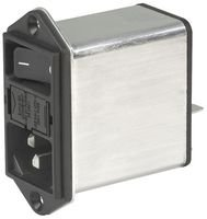 AC Power Entry Modules Standard Filter QC 10A No Drawer