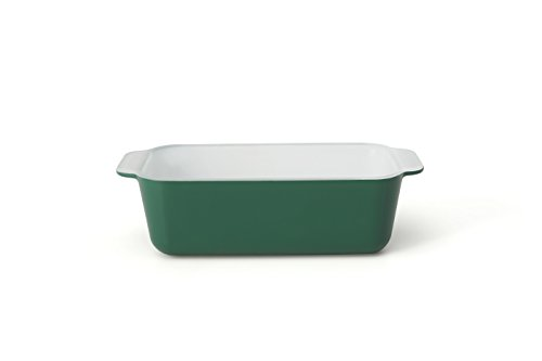 Creo SmartGlass Cookware, 8.5 inch Loaf Pan, Bali Green