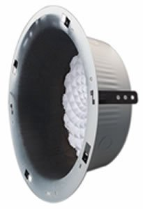 New Bogen Round Recessed Ceiling Speaker Enclosure 8in Cone-Type Loudspeakers UL - Round Shopping Rock