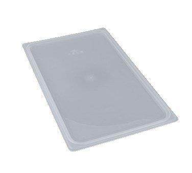 (Camwear 10PPCWSC190 Food Pan Seal Cover, polypropylene, translucent, NSF [Case Of 6] (Full Size))