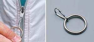 Amazoncom Ring Zipper Pull Pack Of 3 Health Personal Care