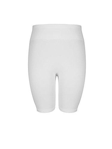 Crush Womens High Waist Seamless Mid Thigh Leggings Pants Large X Large (Soft Hip Hugger)