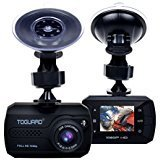 Mini Dash Cam - TOGUARD in Car Dashboard Camera Driving Recorder HD 1080P Wide Angle with G-Sensor Loop Recording Motion Detection