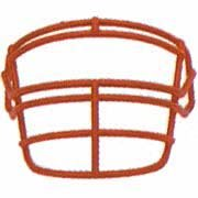 Schutt Navy Reinforced Jaw and Oral Protection (RJOP) Full Cage Football Helmet Face Guard from