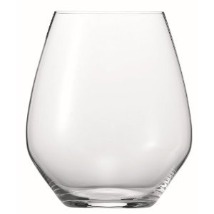 (Spiegelau Authentis Casual Stemless Burgundy Wine Glass, Set of 4)