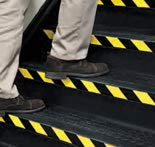 """Safe Way Traction 2"""" x 108' Roll Black & Yellow"""