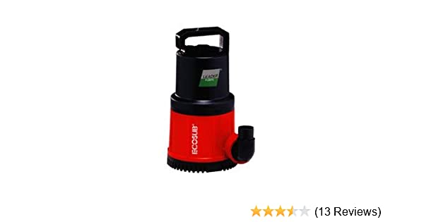 669f8bce72b5 Amazon.com   Leader Ecosub 410 Manual - 1 3 HP - 2220 GPH   Pond Water Pumps    Garden   Outdoor
