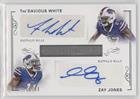 Zay Jones; Tre'Davious White #/99 (Football Card) 2017 Panini National Treasures - Rookie Dual Signatures #RDS-BUF