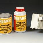 Pyro-Paint 634-AL Alumina Based Refractory Coating, Pint