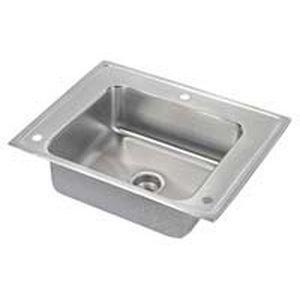 Elkay DRKADQ282265R 18 Gauge Stainless Steel 28