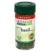 Frontier Herb Imported Basil Leaf C/S ( 1x1Lb) ( Multi-Pack) by FRONTIER HERB