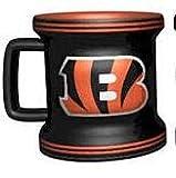 NFL Cincinnati Bengals Sculpted Mini Mug, 2-ounce