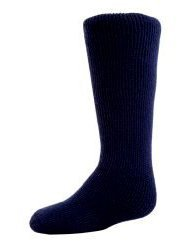 1 Pair Mens GENUINE Original BIGFOOT Thermal Winter Warm Heat Holders Socks size 12-14 uk Navy