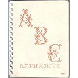 Designed Alphabets for Canvas Embroidery & Cross Stitch - Book One By Rose Anne Hobbs