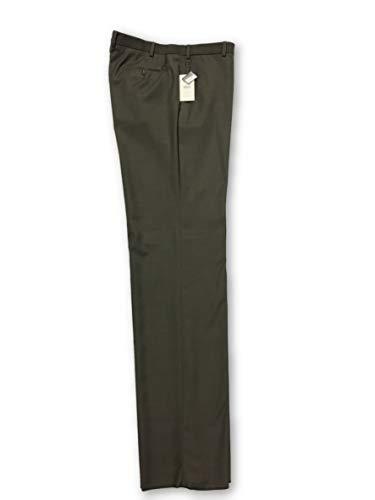 Armani Collezioni Grey Cotton Trousers Size W36 Cotton