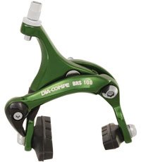 Dia-Compe BRS-100 Caliper Road Rear Brake w/39-49mm Green
