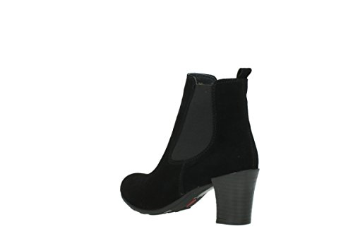 Wolky 07748 40000 Black Oiled Comfort nbsp;kelly Suede Bottes rwqrxC