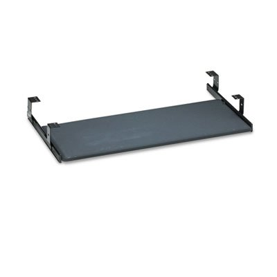 Bush Universal Keyboard Shelf Accessory, 30-1/8w x 16-5/8d, Black by Bush Business Furniture