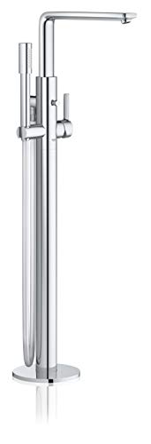 Grohe 23792001 Lineare Single-Handle Freestanding Bathtub Faucet in StarLight Chrome, ()