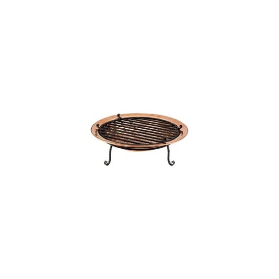 Good Directions 771 Medium Copper Fire Pit - Hand hammered copper Deep copper basin cradle wood or coal for a capitvating blaze Bring warmth and comfort to backyard, beach or patio - patio, outdoor-decor, fire-pits-outdoor-fireplaces - 21rIWAFlT1L. SS570  -