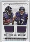 Breshad Perriman; Maxx Williams #97/99 (Football Card) 2015 Panini National Treasures - Rookie NFL Gear Combo #RNGC-PW ()