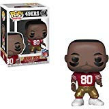 Jerry Rice [San Francisco 49ers]: NFL x Funko POP! Football Vinyl Figure & 1 PET Plastic Graphical Protector Bundle [#114 / 33307 - - Football Pop