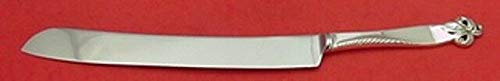 """Orchid Elegance by Wallace Sterling Silver Wedding Cake Knife HHWS 12"""" Custom"""