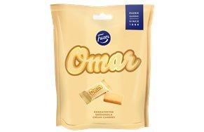 Fazer Omar 220g caramel candy (SET OF 7)