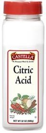 Castella Citric Acid - 12 Pack (32oz) by Castella